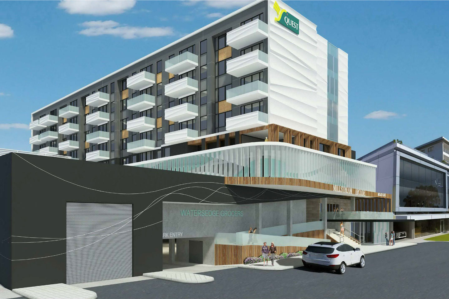 Quest hotel approved for south perth business news for Landscape architecture courses perth
