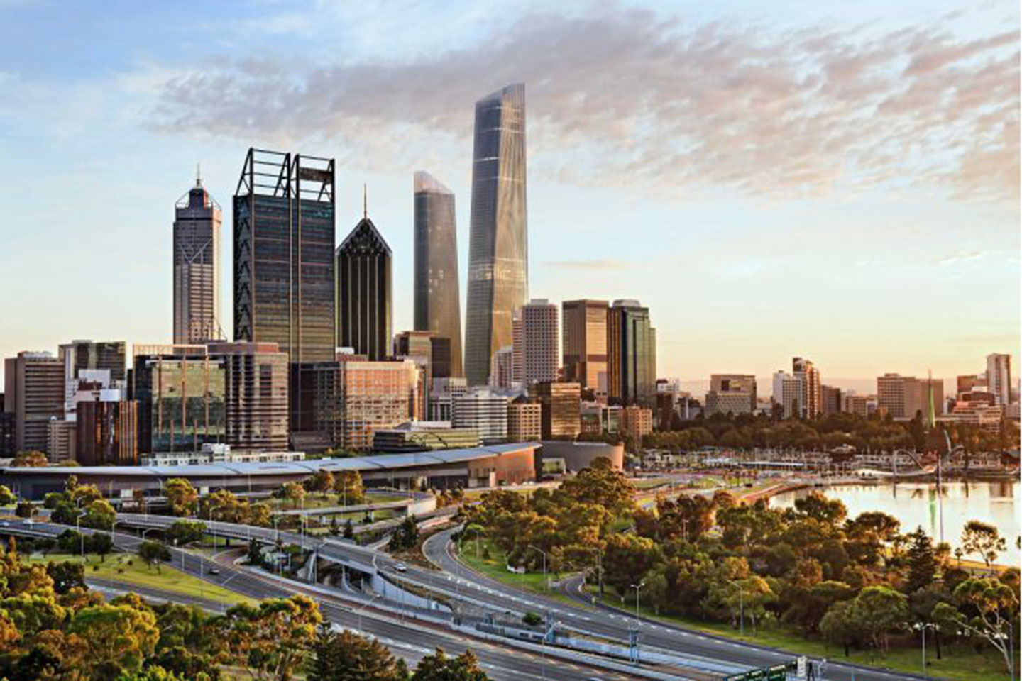 World trade centre proposal for perth business news for Landscape architecture courses perth