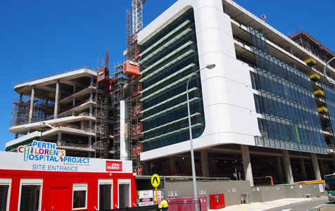 Children's Hospital build on-time, on-budget