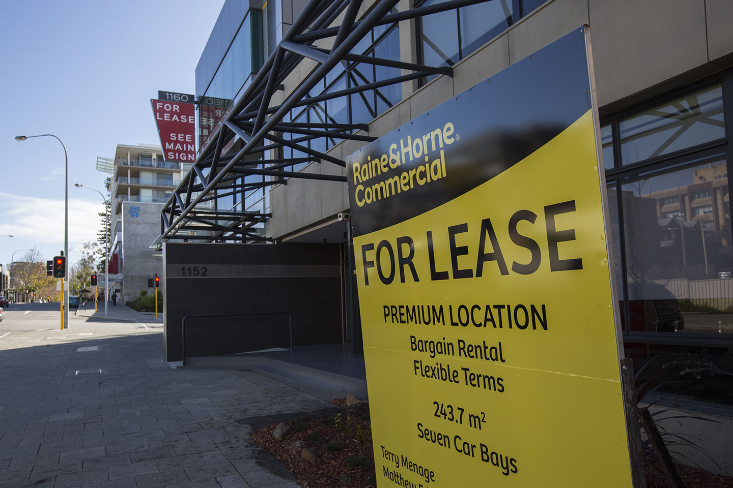 West Perth vacancy hits record high