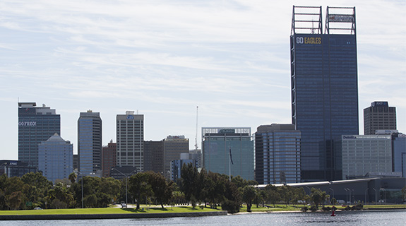 Playing field levelled on Perth skyline