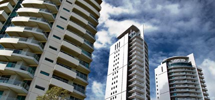 East Perth skies fill with high rise