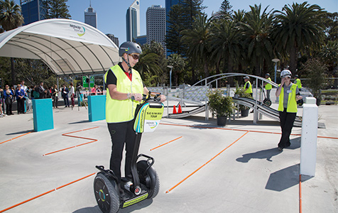 WA-first Segway tours roll out of Barrack Square