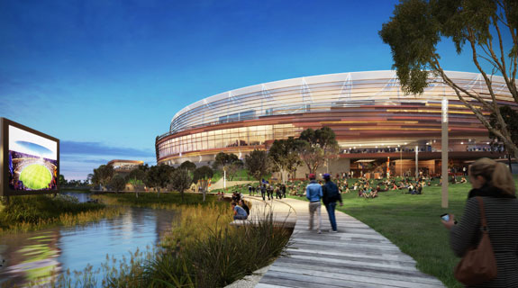Operators shortlisted for Perth Stadium