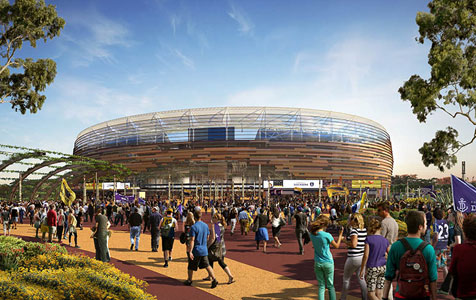 Perth Stadium to come in under budget