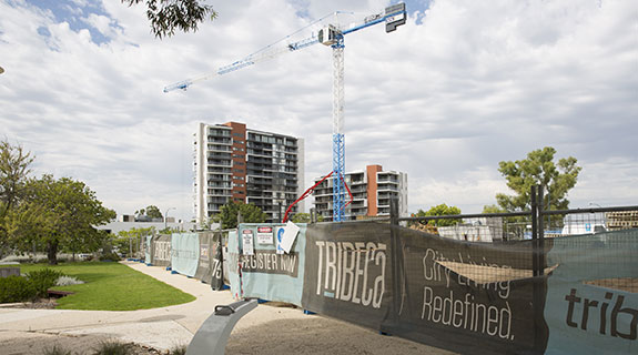 Locals lead high-rise push