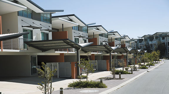 Smaller apartment buildings in favour