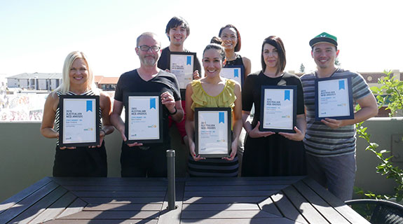 Bam Creative recognised at web awards