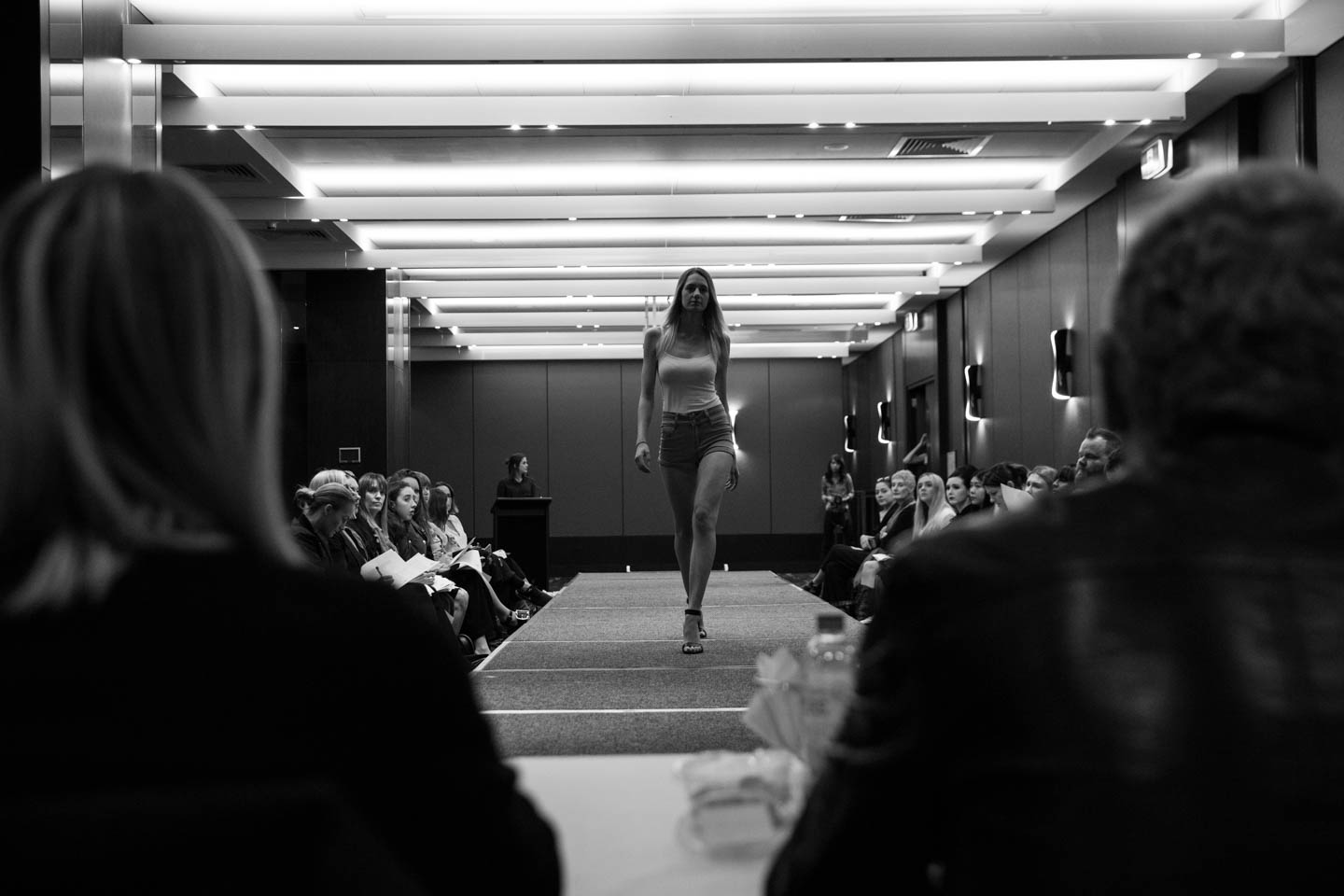 More than 150 models participated on a fashion casting in the hope of being selected to walk the runway of Telstra Perth Fashion Festival.