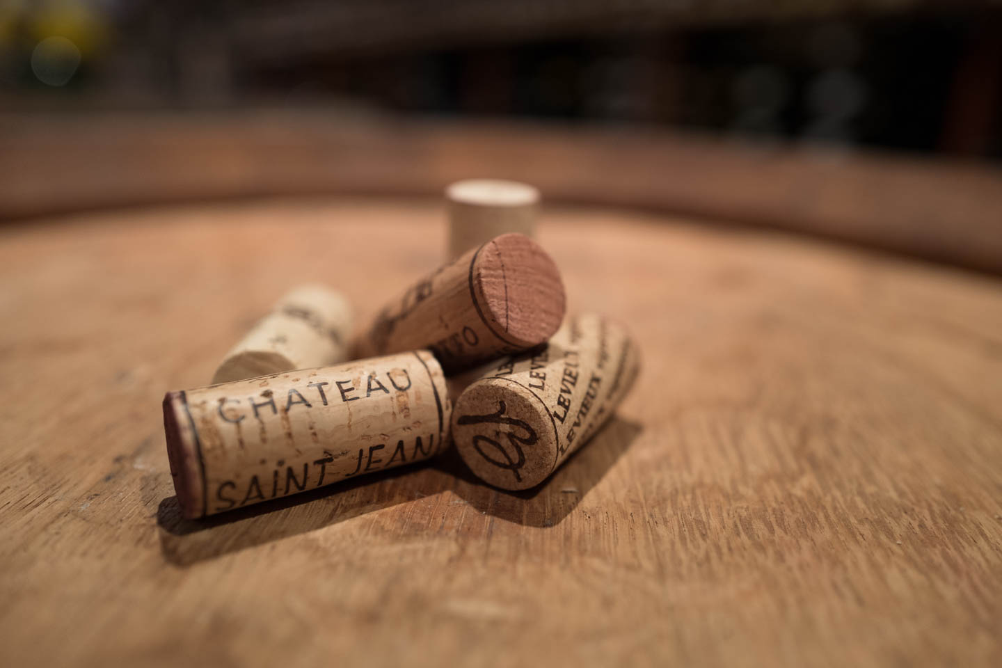 Corks in the cellar