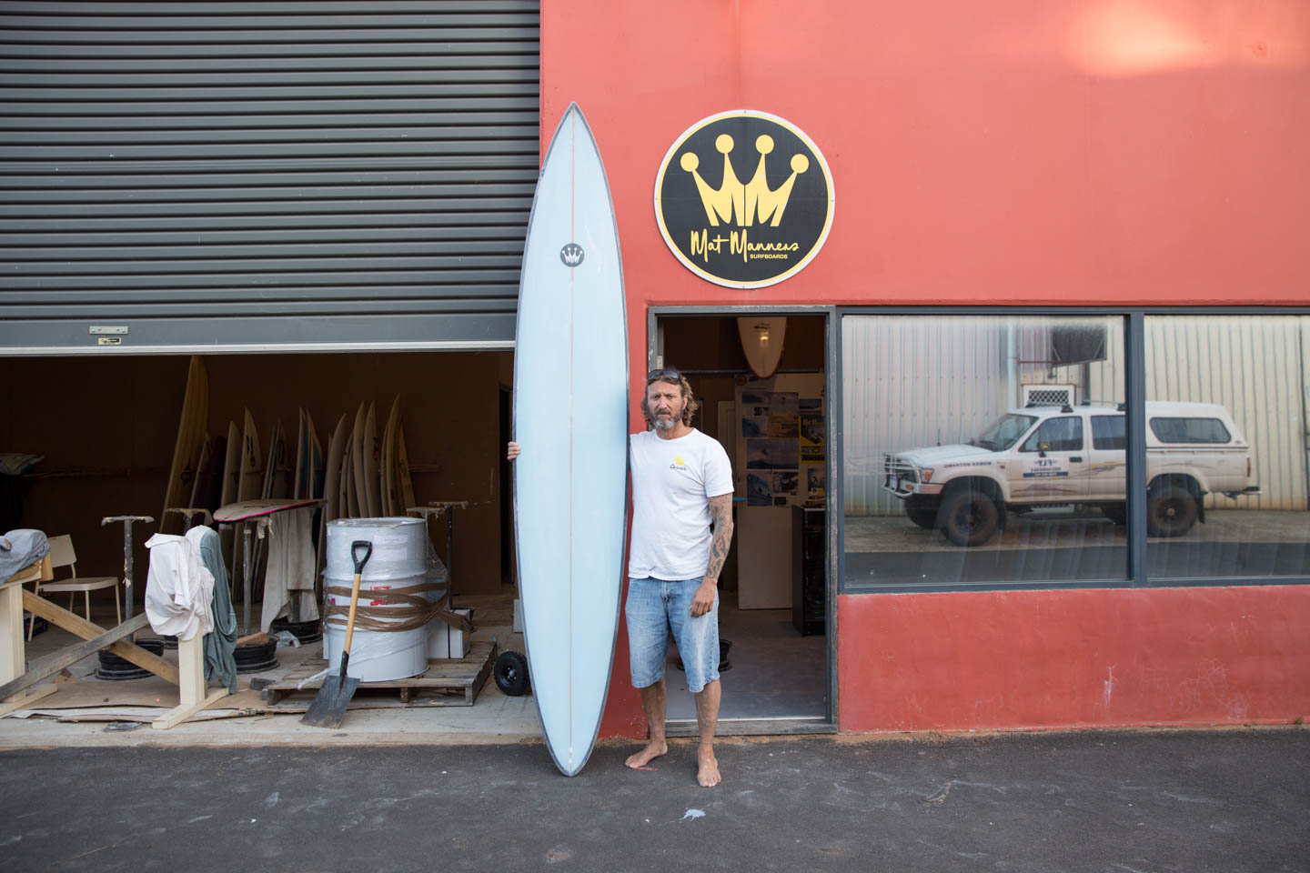 Matt Manners surf shaper
