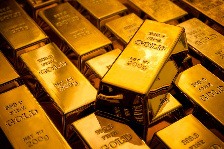 Gold slips from high after U.S. data