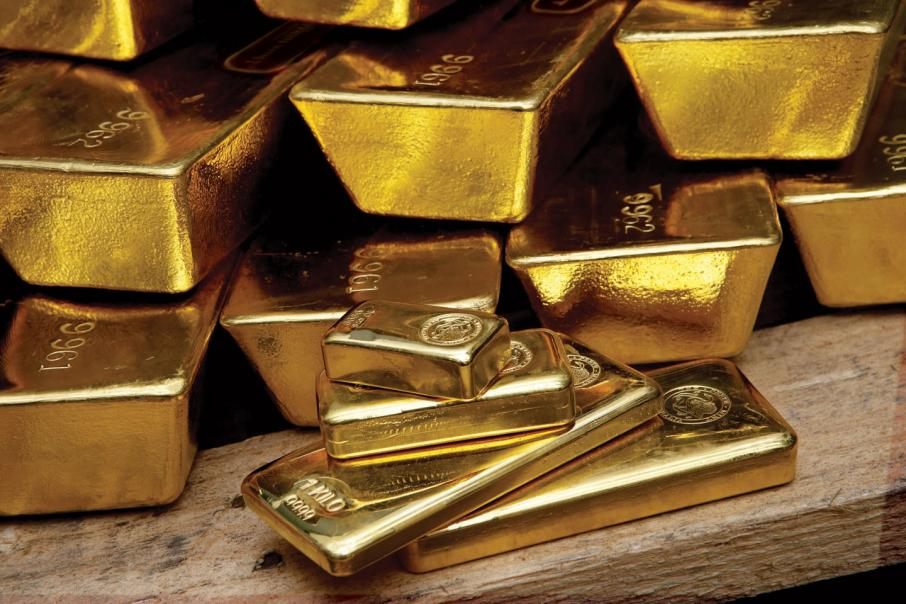 Gold pares gains from 5-month high