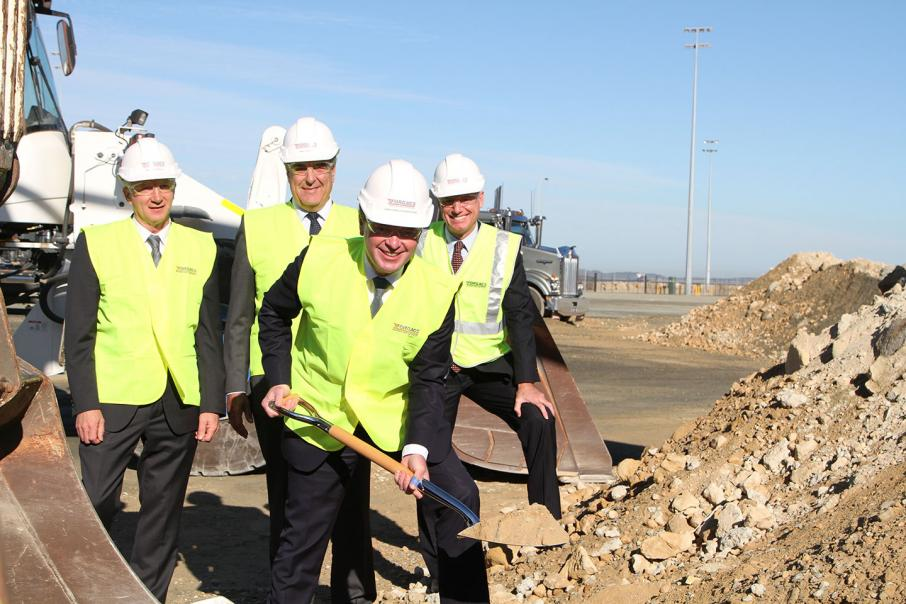 First sod turned at new Henderson facility