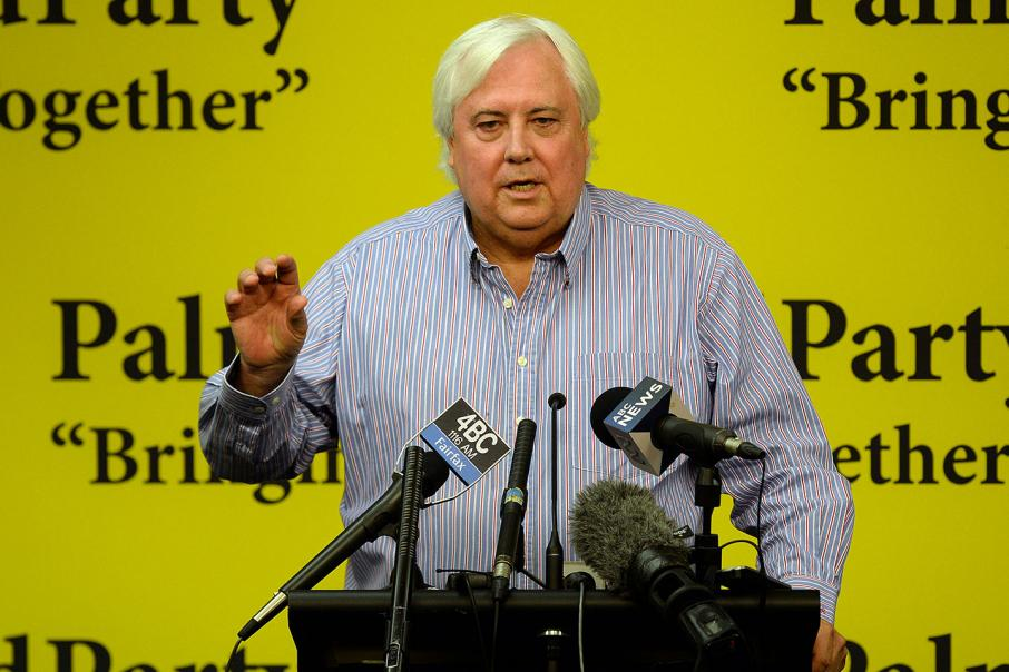 Palmer goes quietly from politics